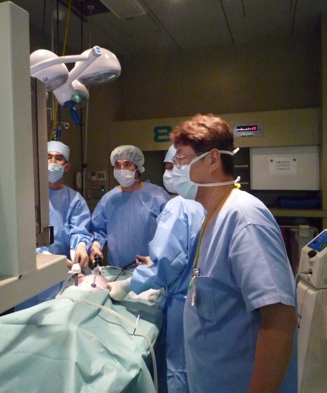 にも腹腔鏡の手術を! 腹腔 ...